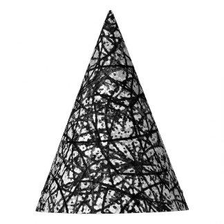 パーティの帽子のグランジな芸術の抽象芸術 パーティーハット