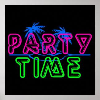 パーティの時間 ポスター