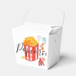 パーティの記念品のカーニバルのポップコーンの誕生会 フェイバーボックス