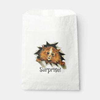 パーティの記念品のバッグ、びっくりパーティ猫 フェイバーバッグ