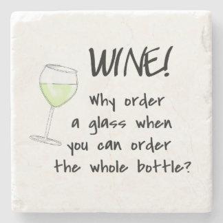 パーティの飲み物を言う白ワインのおもしろいな単語 ストーンコースター