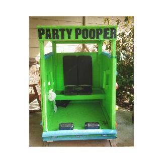 パーティのpooper キャンバスプリント