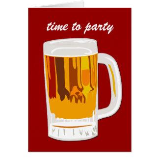 パーティを楽しむ時間 カード