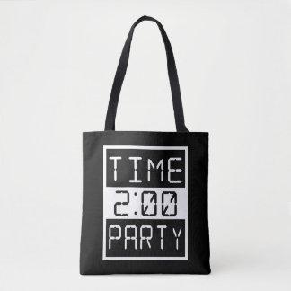 パーティを楽しむ時間 トートバッグ