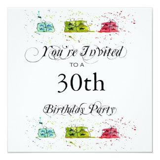 パーティーのギフトの第30バースデーパーティ招待状 カード