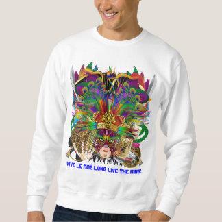 パーティーのコンボ王DJ。 ドラゴン、海賊、謝肉祭 スウェットシャツ
