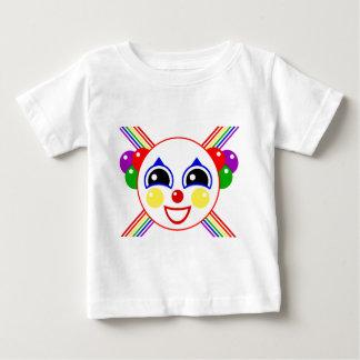 パーティーのピエロ ベビーTシャツ