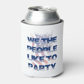 パーティーの人々の7月4日の飲料のクーラーボックス 缶クーラー