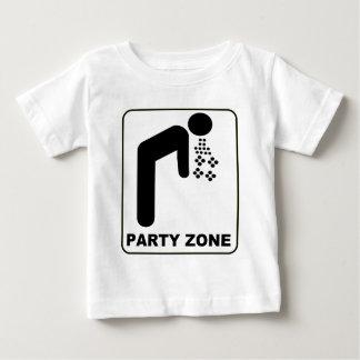 パーティーの地帯 ベビーTシャツ