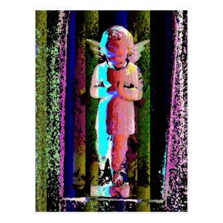 パーティーの天使の郵便はがき ポストカード
