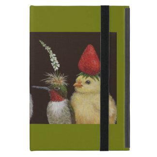 パーティーの帽子のiPadの小型場合の鳥 iPad Mini ケース