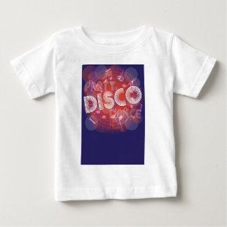パーティーの背景 ベビーTシャツ