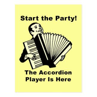 パーティーを始めて下さい! ポストカード