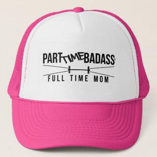 パートタイムBADASSのフルタイムお母さんのトラック運転手の帽子 キャップ