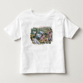 パーマによって捜されるインダス川の銀行のユニコーン トドラーTシャツ