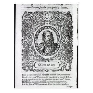 パーマのマルグレット、オランダの知事 ポストカード