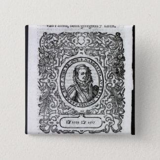 パーマのマルグレット、オランダの知事 5.1CM 正方形バッジ