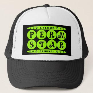 パーマの星-私はHeadturnerの巻き毛のヘアスタイル、ライムを有します キャップ