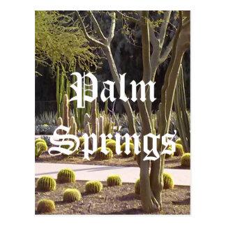 パーム・スプリングスカリフォルニアの郵便はがき ポストカード