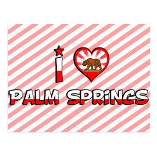 パーム・スプリングス、カリフォルニア ポストカード