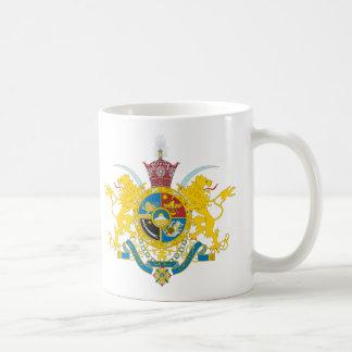 (パーレビの王朝1925-1979年)イランの紋章付き外衣 コーヒーマグカップ