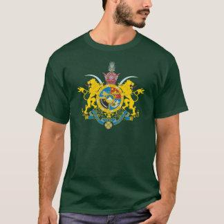 (パーレビの王朝1925-1979年)イランの紋章付き外衣 Tシャツ