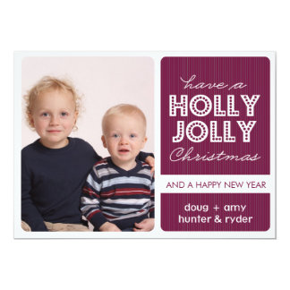 「ヒイラギすてきな」の(DEMICK)休日の写真カード カード