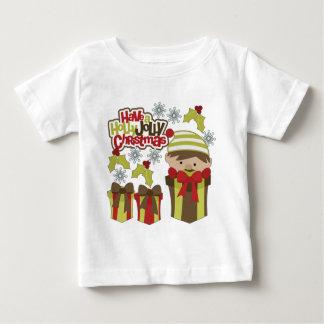 ヒイラギのすてきなクリスマスを持って下さい ベビーTシャツ