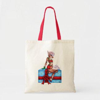 ヒイラギのすてきなクリスマス トートバッグ