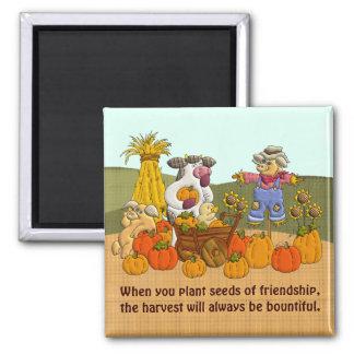 ヒイラギの友情の収穫 マグネット