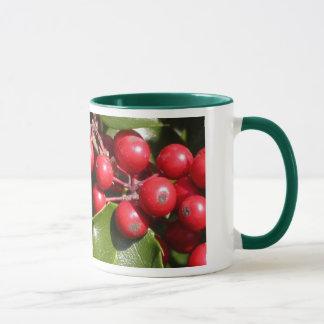 ヒイラギの果実 マグカップ