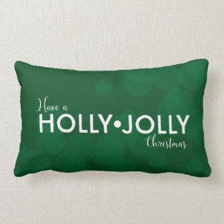 ヒイラギを持って下さい • すてきなクリスマス|の深緑色の《写真》ぼけ味 ランバークッション