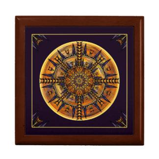ヒエログリフのガの曼荼羅の芸術のタイル箱 ギフトボックス