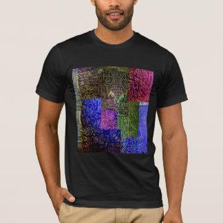 ヒエログリフのモザイク Tシャツ