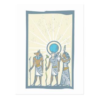 ヒエログリフの日曜日光線 ポストカード