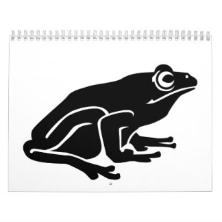 ヒキガエルのカエル カレンダー