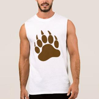 ヒグマのプライドくま爪(l) 袖なしシャツ