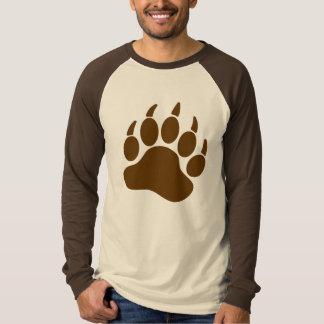 ヒグマのプライドくま爪(r) tシャツ