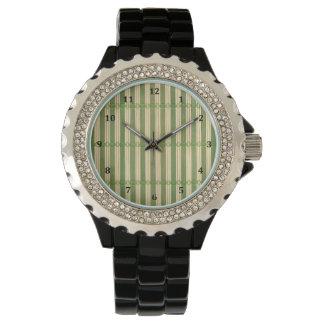ヒスイのタケマットの質の一見 腕時計