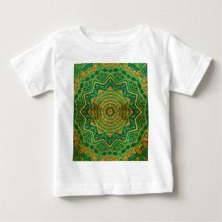 ヒスイの曼荼羅 ベビーTシャツ