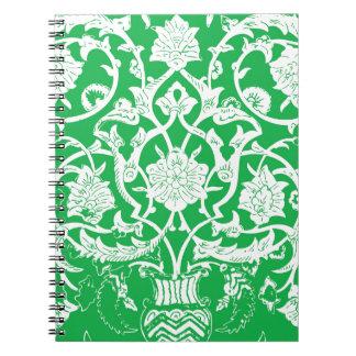ヒスイの民族パターン ノートブック