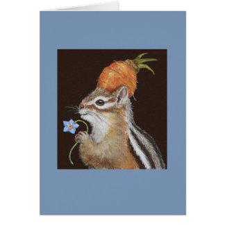 ヒスイシマリスカード カード
