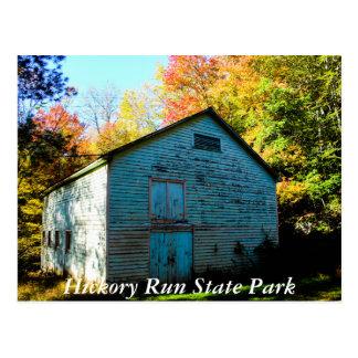 ヒッコリーの操業州公園 ポストカード