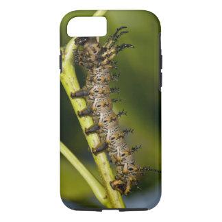 ヒッコリーの角状の悪魔の幼虫(Citheronia iPhone 8/7ケース