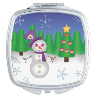 ヒッピーのクリスマスの雪だるま