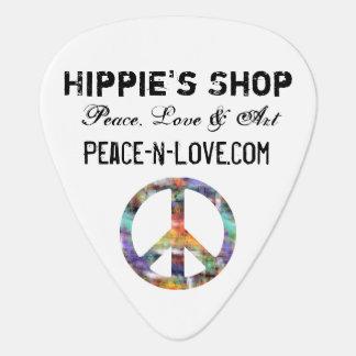 ヒッピーの店の昇進の価値ピースサイン ギターピック