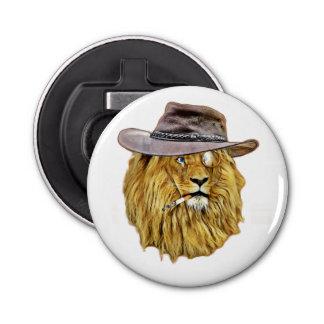 ヒップスターのおもしろいなライオン猫 栓抜き