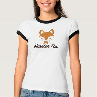 ヒップスターのキツネのヴィンテージ Tシャツ