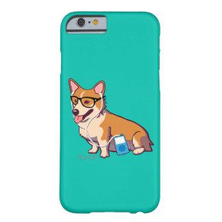 ヒップスターのコーギーのiPhone6ケース(なしで Barely There iPhone 6 ケース