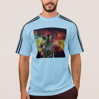 ヒップスターのシマウマのスタイル Tシャツ